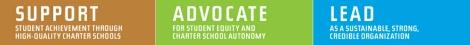 Charter Slogan, support advocate lead